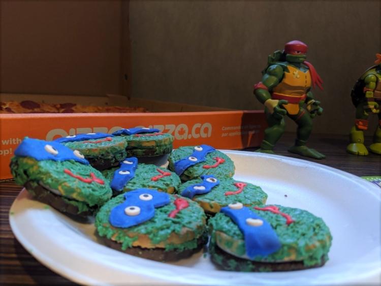 teenage mutant Ninja Turtle food ideas