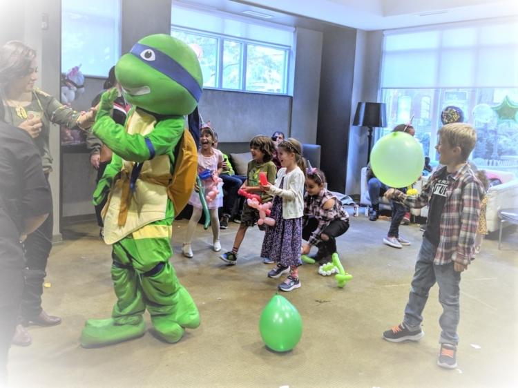 easy Ninja Turtle party ideas