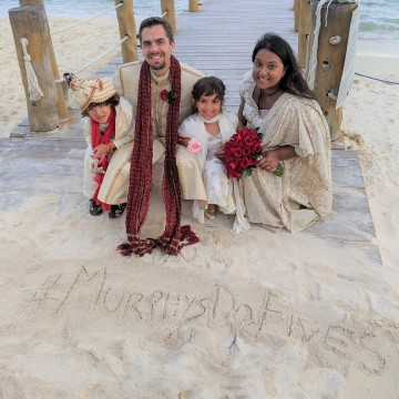Vow Renewals at The Fives Beach Hotel with Air Transat #MurphysDoFives