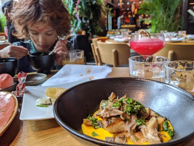 Sea bass nikkei toronto downtown Toronto delicious brunch