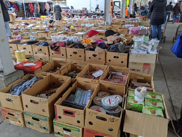 Rochester public market garage sale