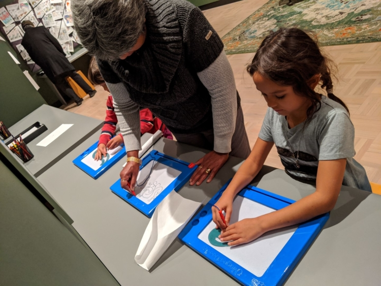 art gallery rochester for kids with grandparents