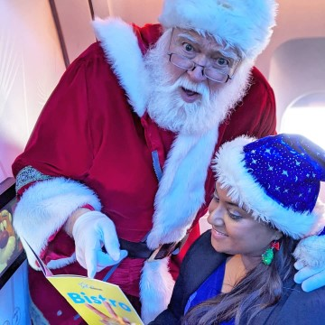 In the Air With Santa #SantaFlight
