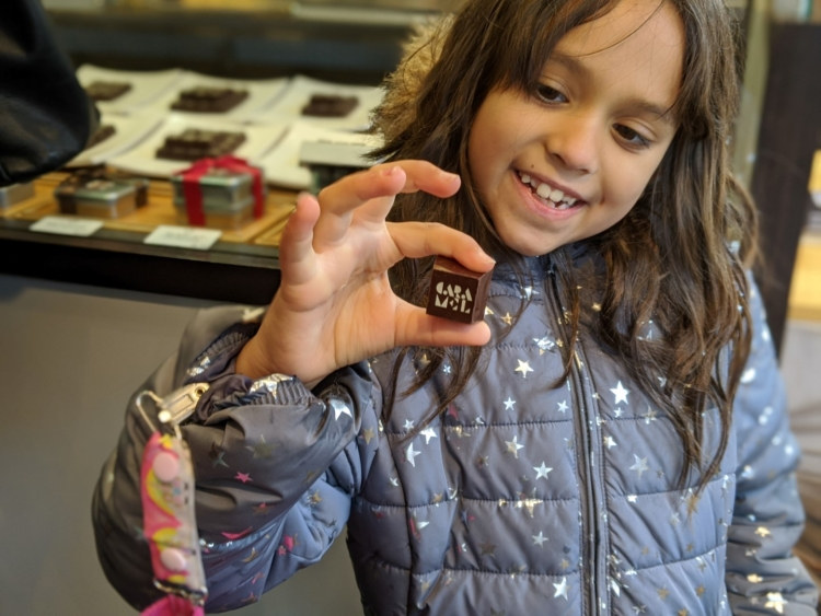 Chocolates from Genevieve Grandbois