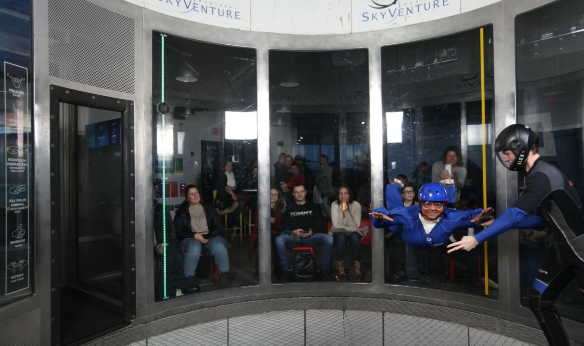 indoor skydiving laval