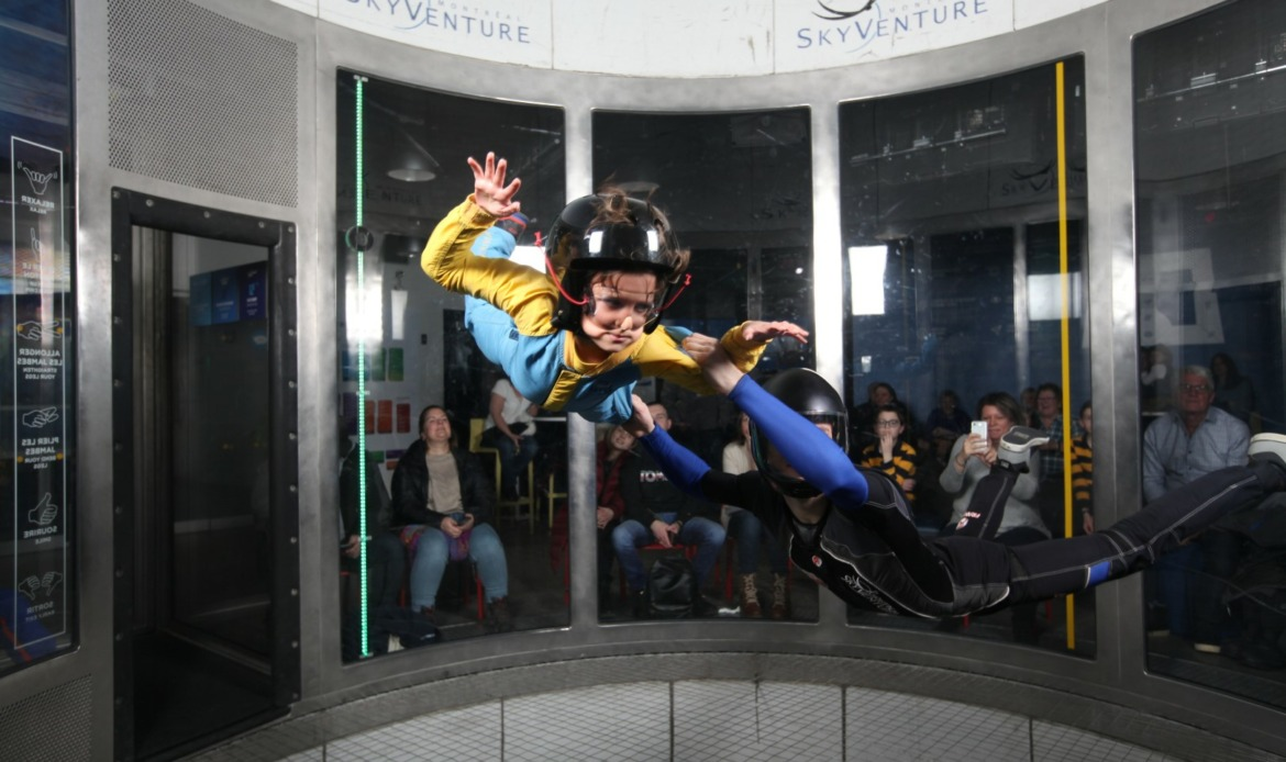 skydiving kids laval