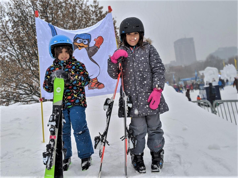 Snowflake Kingdom with kids