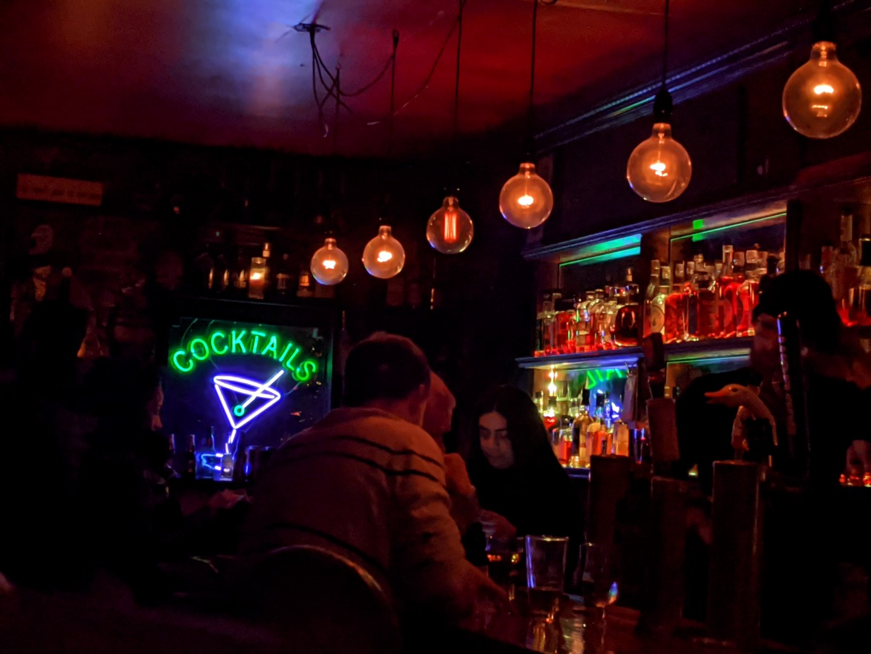 secret bar Toronto ossington girls getaway