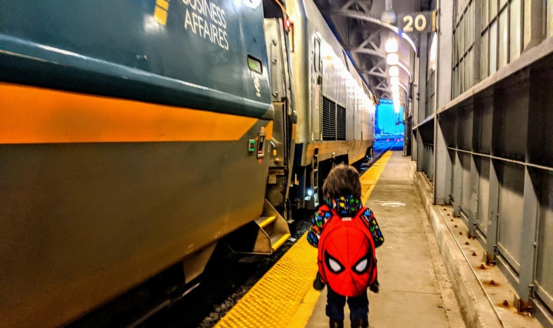 via rail from Toronto to Ottawa with kids