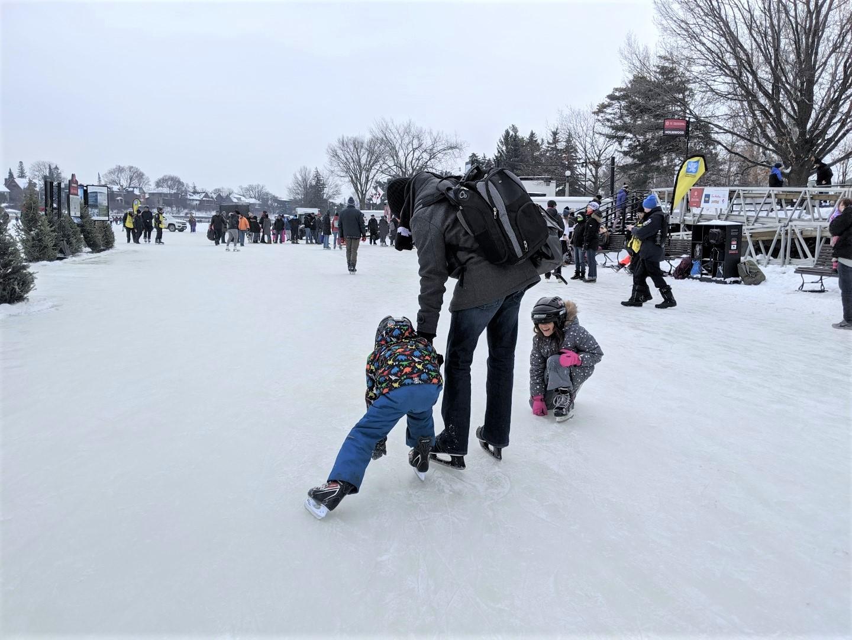 Rideau Canal Ice Skating Rental