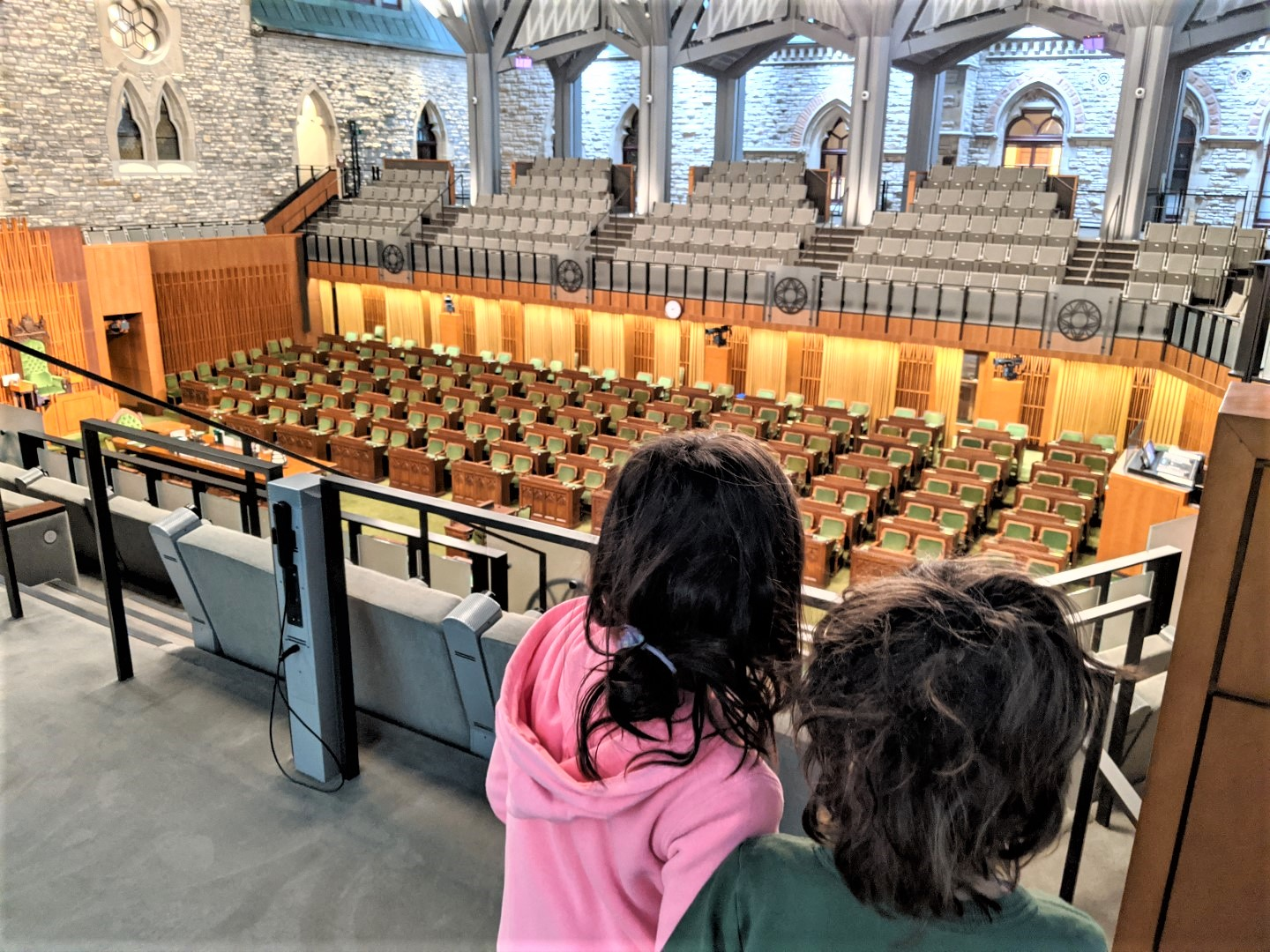 Parliament hill tour with kids