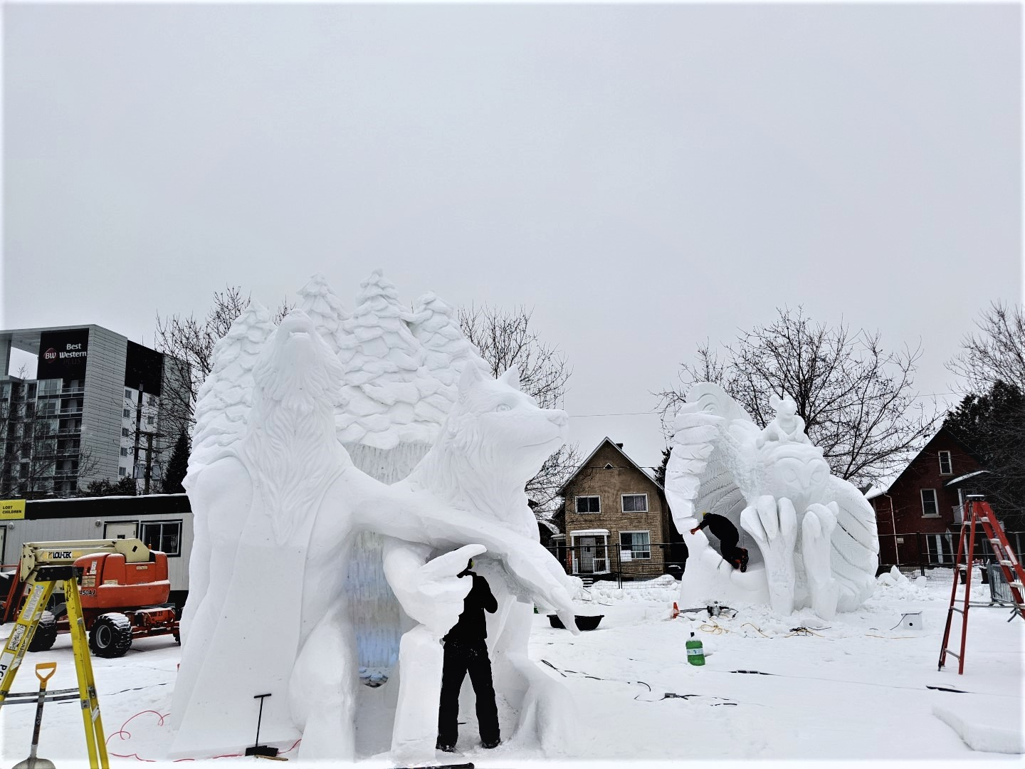 Things to do at Winterlude with kids