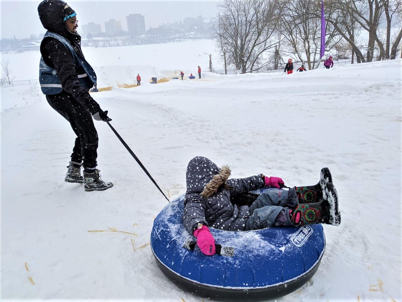 Winterlude activities with kids