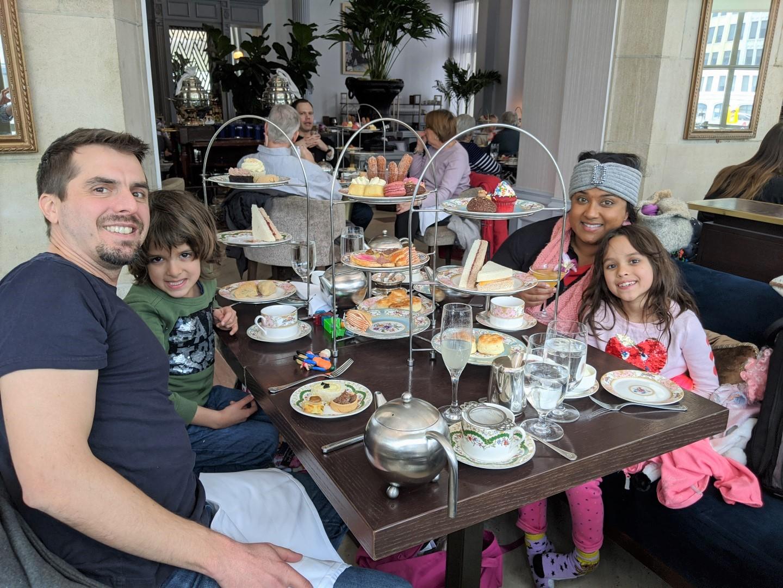 Fairmont Chateau Laurier with Kids