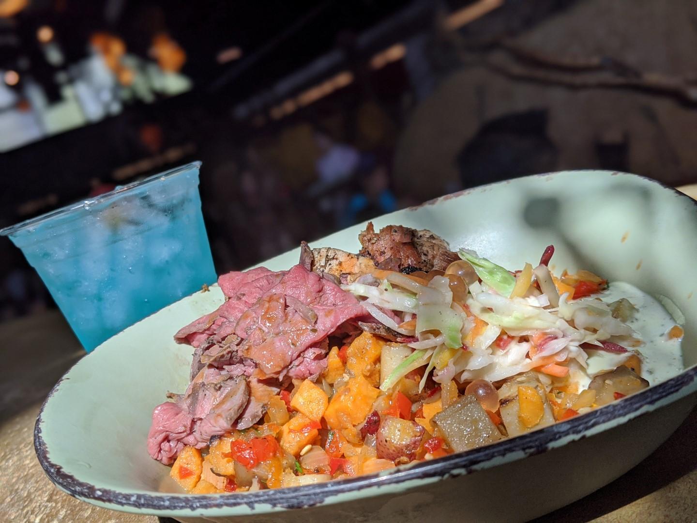 Healthy food at at Disney World