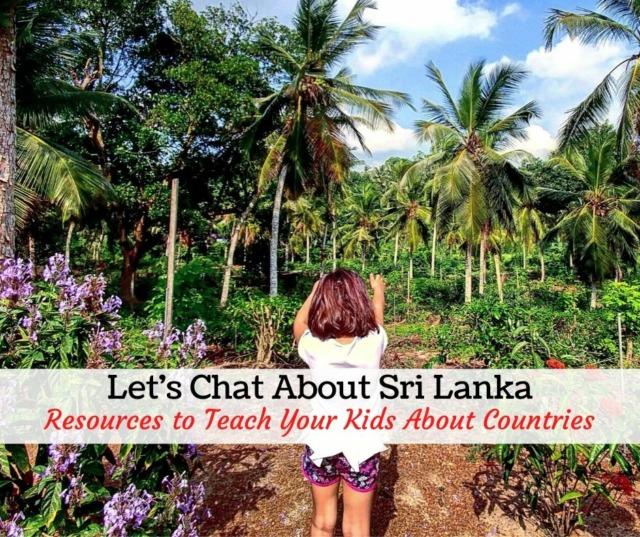 Teaching resources for Sri Lanka