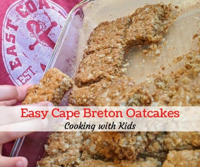 Easy Cape Breton Oatcakes