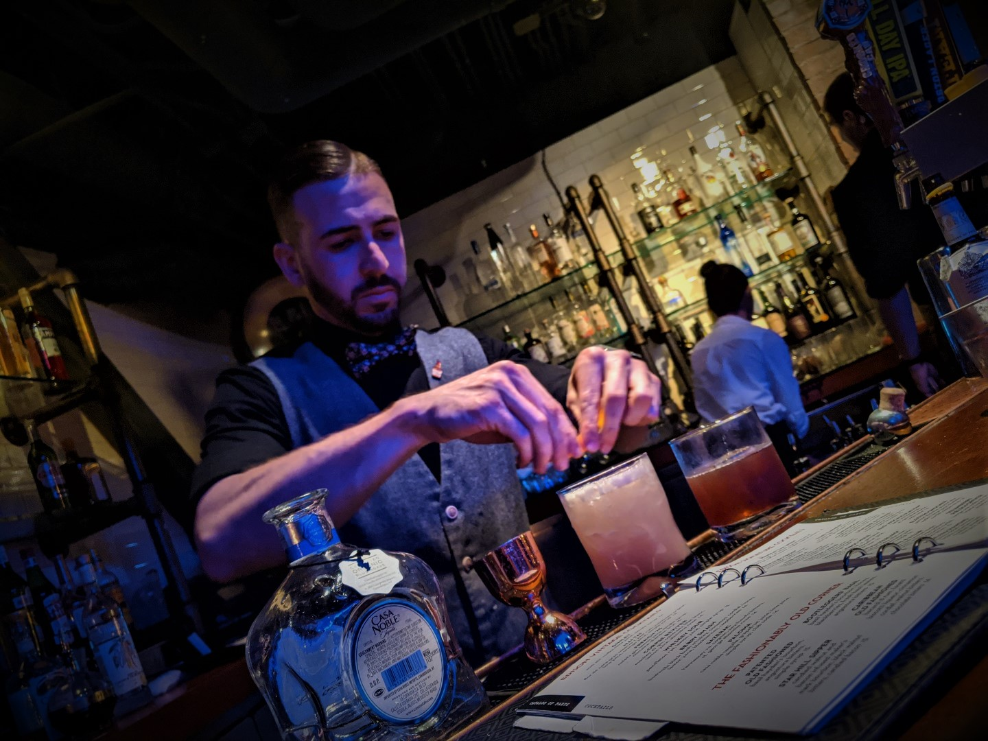 The Edison Fab Cocktail Bar in Disney Springs