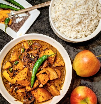 Sri Lankan Apple Curry #OntarioAmbrosia