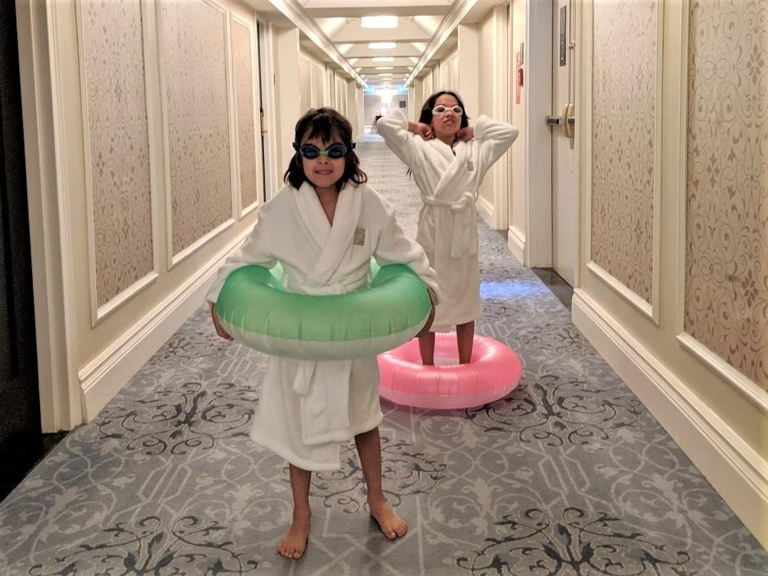 Kids at Royal York Hotel