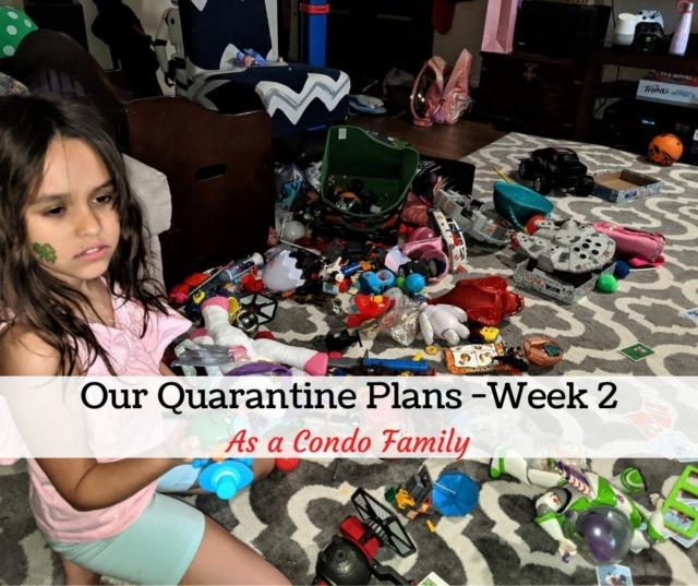 quarantine life with condo kids