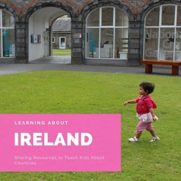 teaching kids about ireland