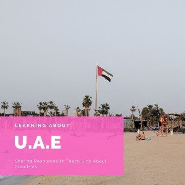 teaching kids about UAE