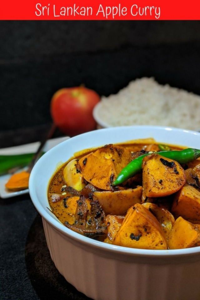 Sri Lankan Apple Curry Recipe (Large)