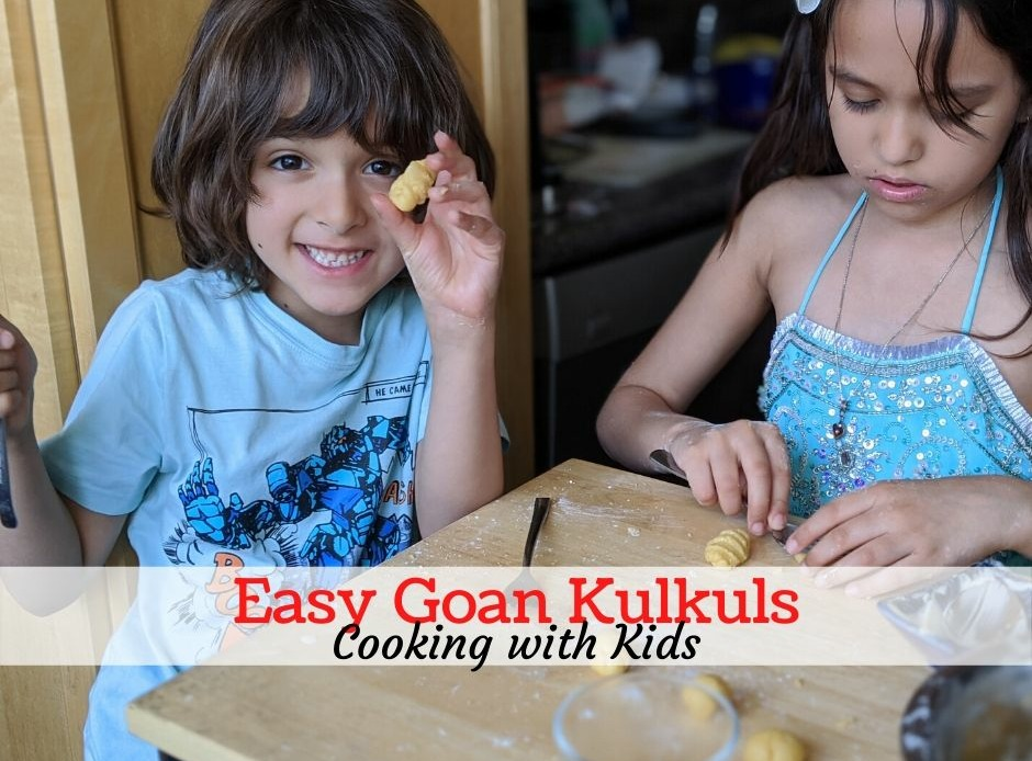 Cooking with kids Kulkuls