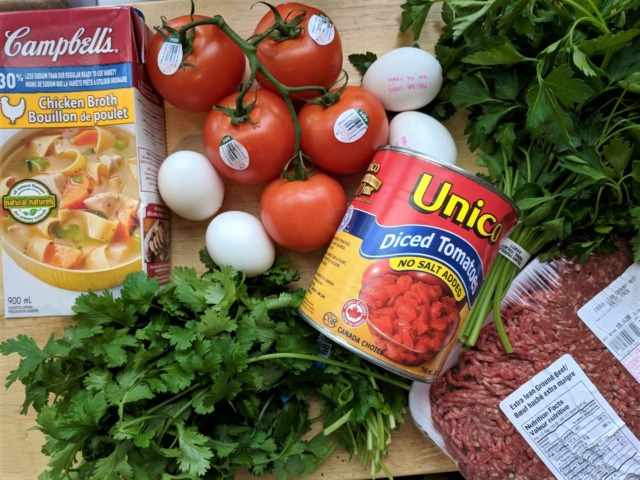 meatball and egg tajine recipe at home