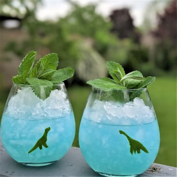 Dinosaur Drinks! A Cocktail and Mocktail