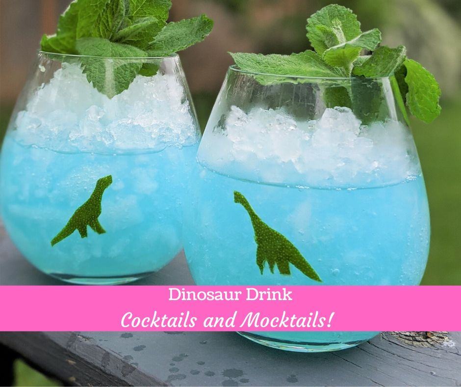 Dinosaur mocktail for kids