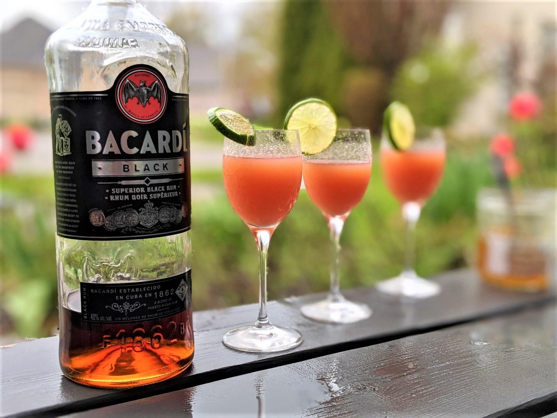 bacardi rum guava cocktail