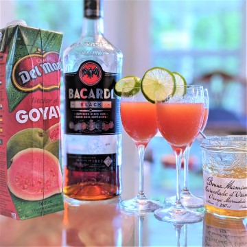 Guava Mocktail & Cocktail