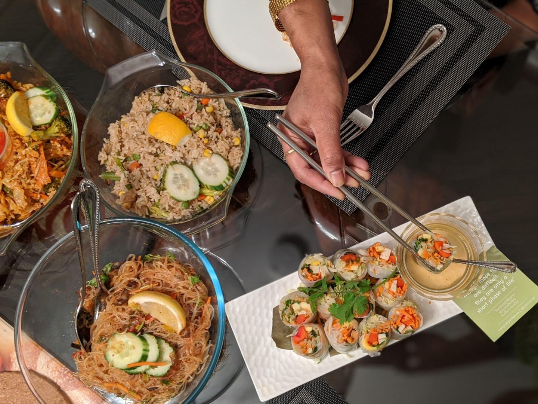 take out menu Bangkok Garden Toronto