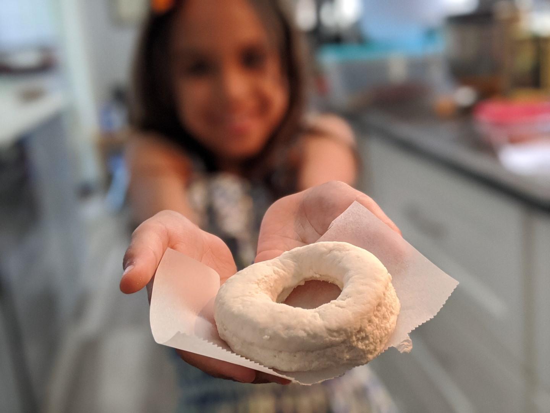 easy homemade doughnuts
