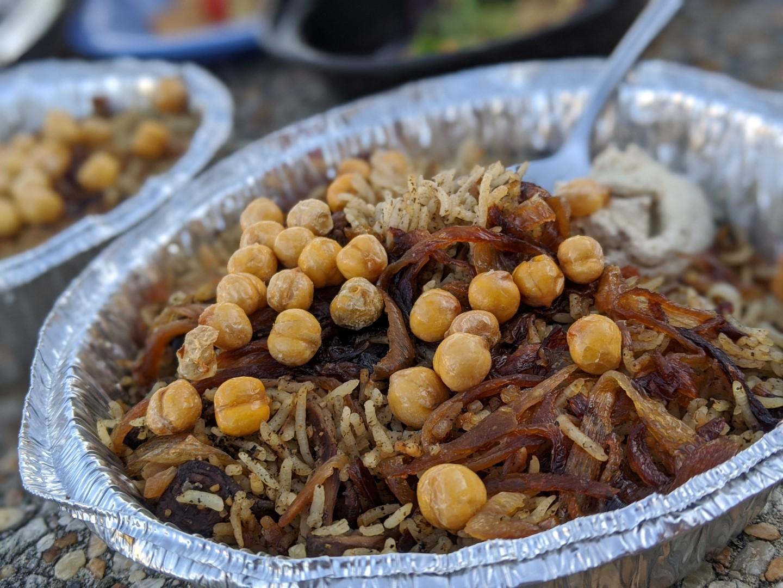 Black Truffle Rice Byblos Toronto Take Out