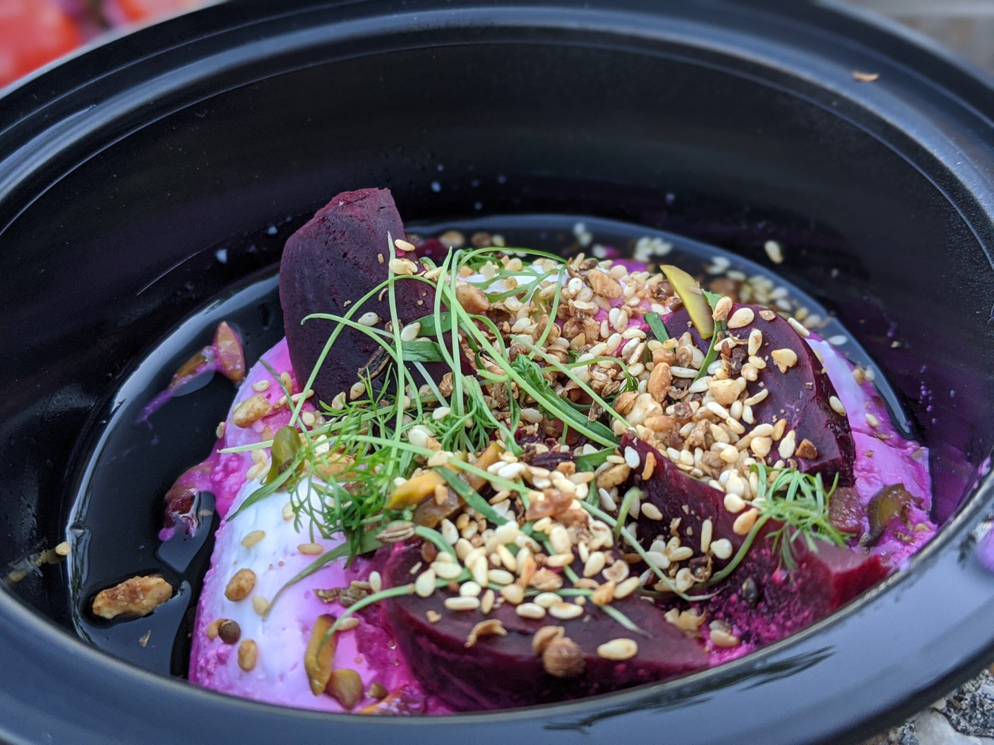 Roasted Red Beets with Dukkah