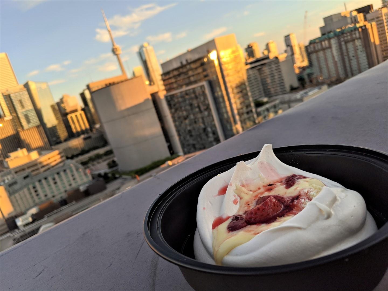 Byblos Toronto takeout dessert