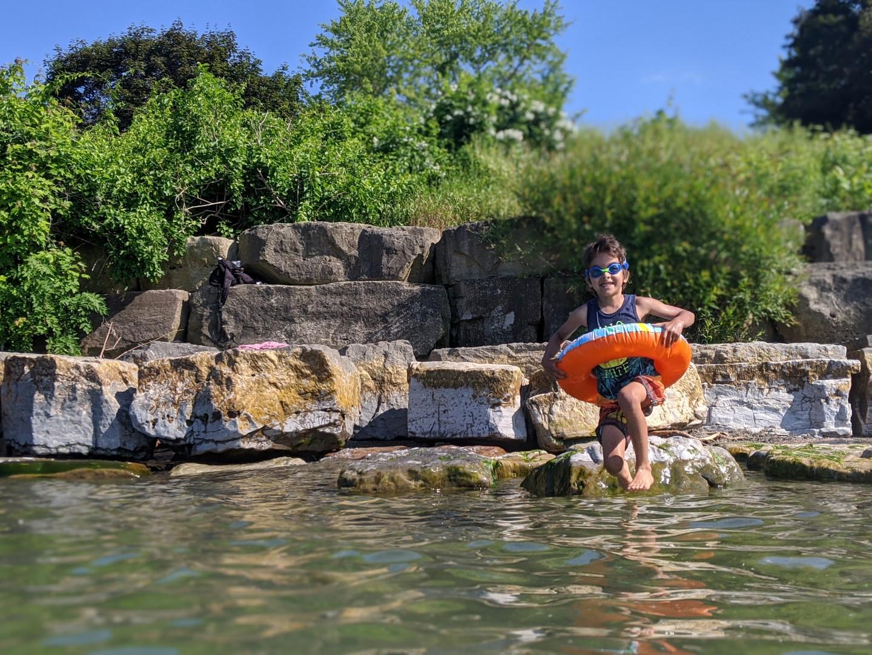 Swimming in Niagara on the Lake