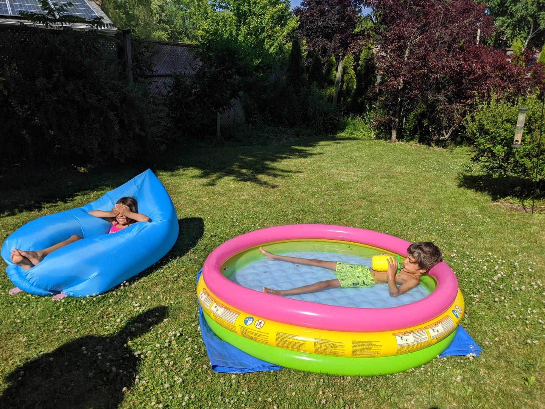 Pool activities for kids