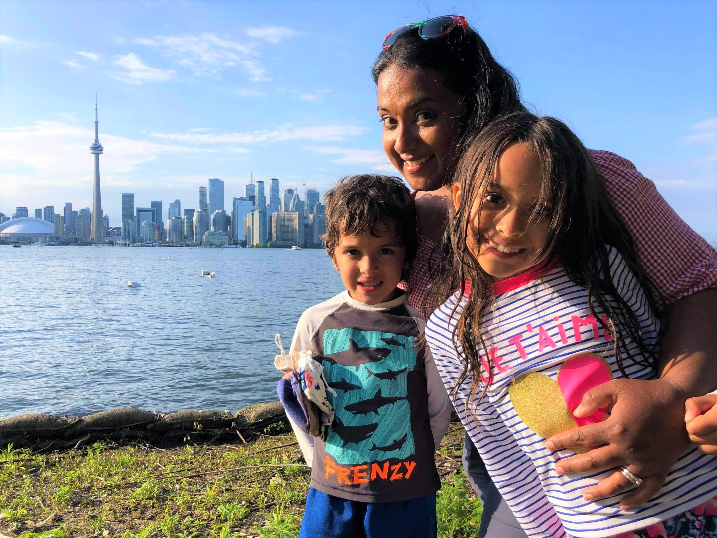 a day on the Toronto Islands during a pandemic