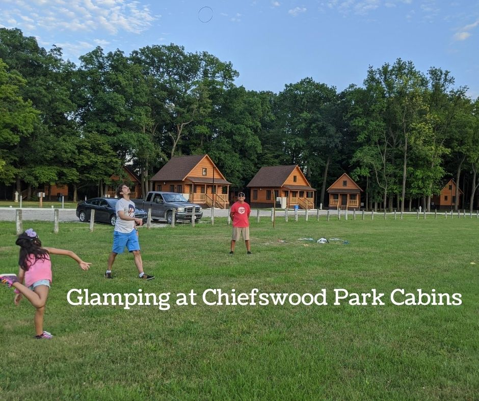Glamping at Chiefswood Park Cabins