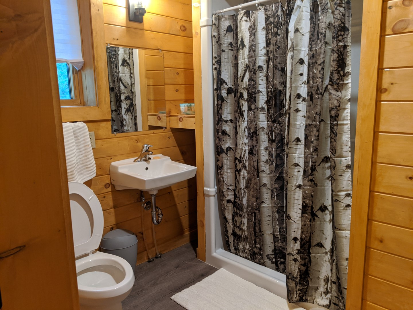 cabins with bathrooms in Ontario