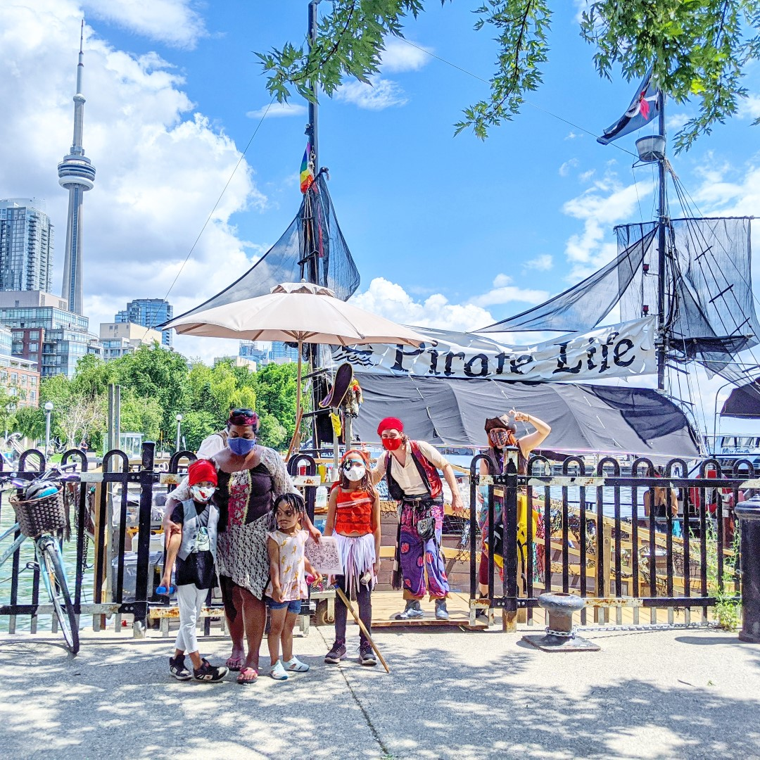 Toronto's Waterfront Pirate Life