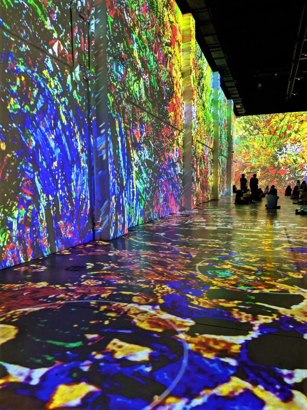 Van Gogh Immersive Experience with kids