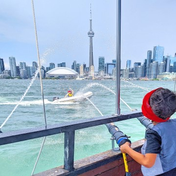 A Day at Toronto's Waterfront with Kids