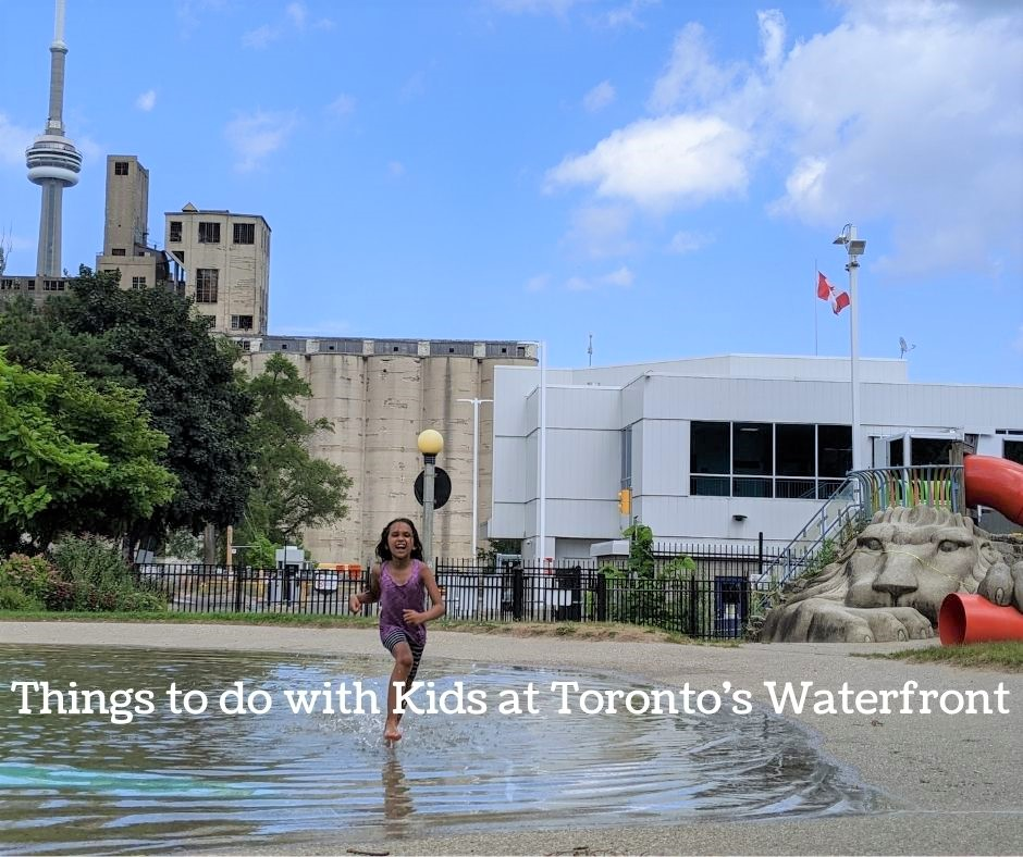 Toronto's Waterfront with kids