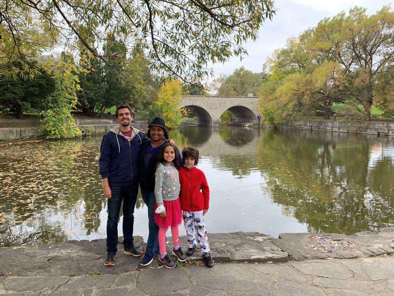 multiracial family Toronto