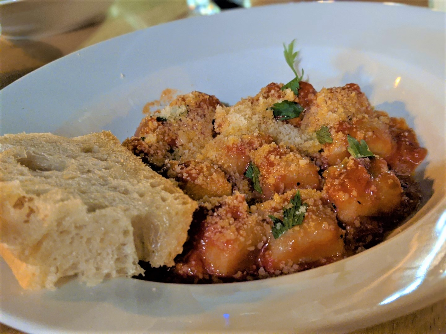 gnocchi places to eat in Stratford